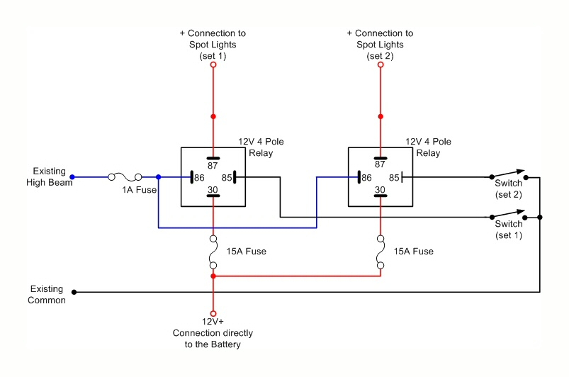 12v relay wiring diagram spotlights Collection-Installing A Ignition Switch Relay Wiring Subaru Elegant Awesome Spotlight Wiring Diagram S Everything You Need 7-p