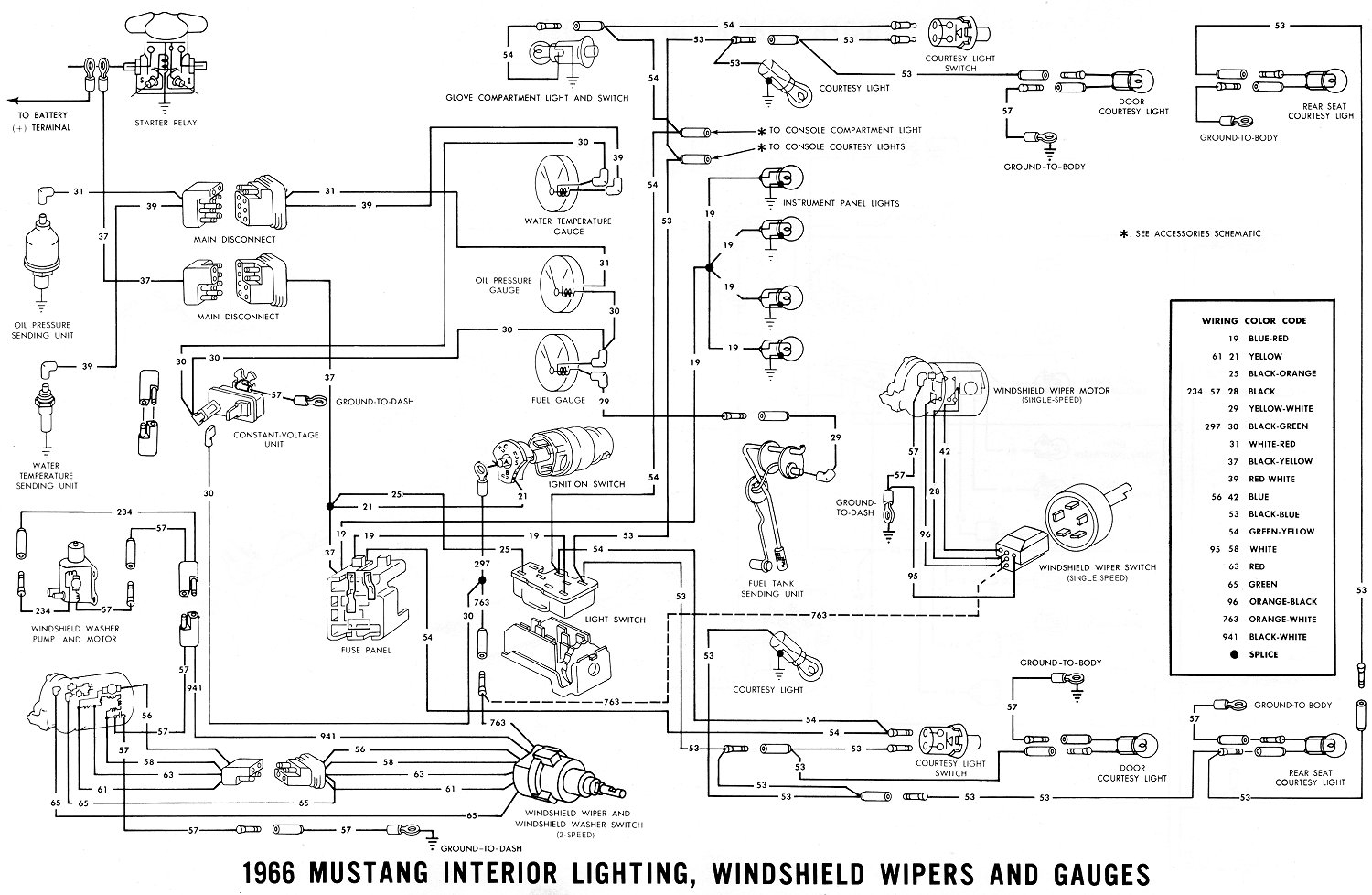 1965 ford mustang wiring diagram Collection-vintage mustang wiring diagrams rh midlife66 1967 Mustang Ignition Wiring Diagram 1968 mustang wiring diagram 16-a
