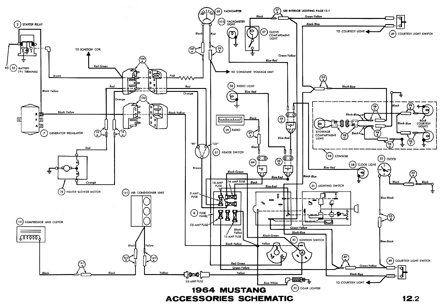 1965 Mustang Ignition Switch Wiring Diagram Gallery ...