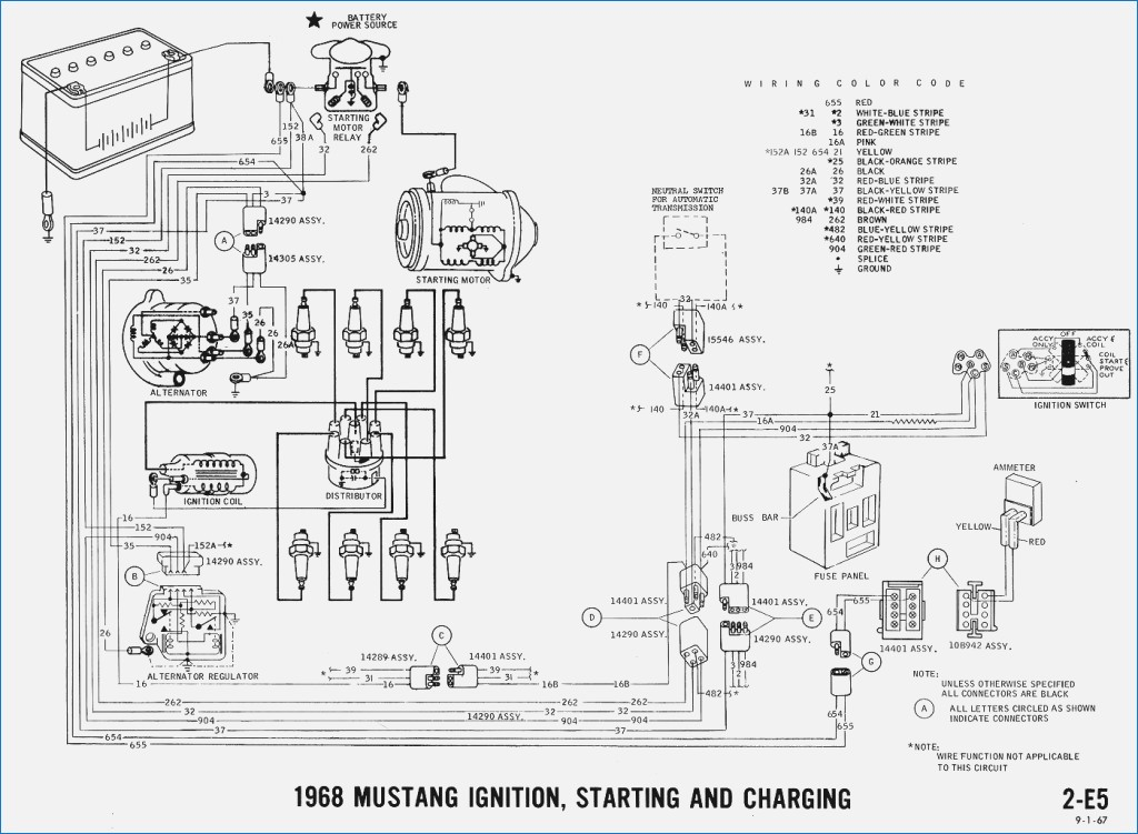 1965 mustang ignition wiring diagram Download-1965 Mustang Wiring Diagrams Electrical Schematics Inspirational 1969 ford Mustang Ignition Wiring Diagram Free Wiring Diagrams 6-h