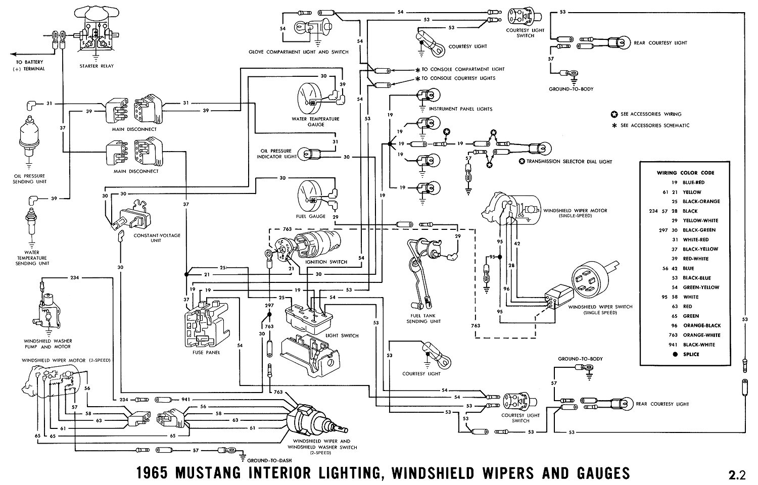 1965 mustang ignition wiring diagram Collection-67 Mustang Wiring Diagram 12-e