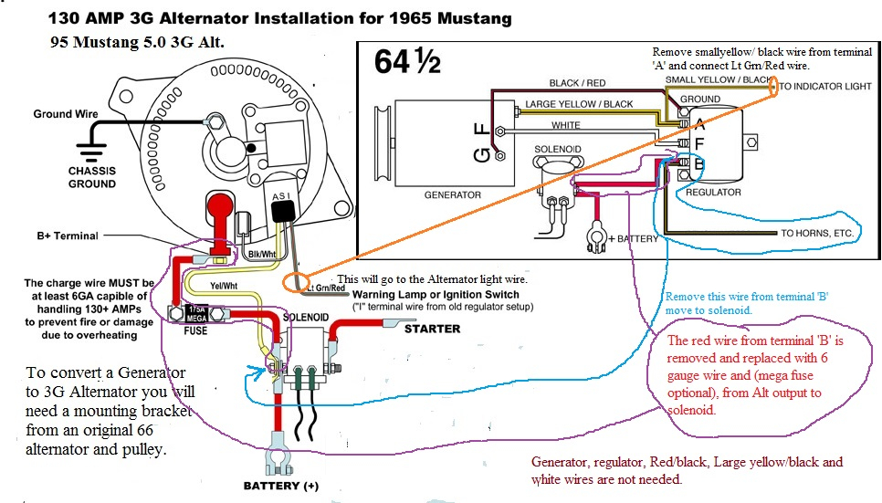 1967 mustang alternator wiring diagram Download-1967 Mustang e Wire Alternator Installation Lovely Resume 50 Fresh 4 Wire Alternator Wiring Diagram Hd 2-t