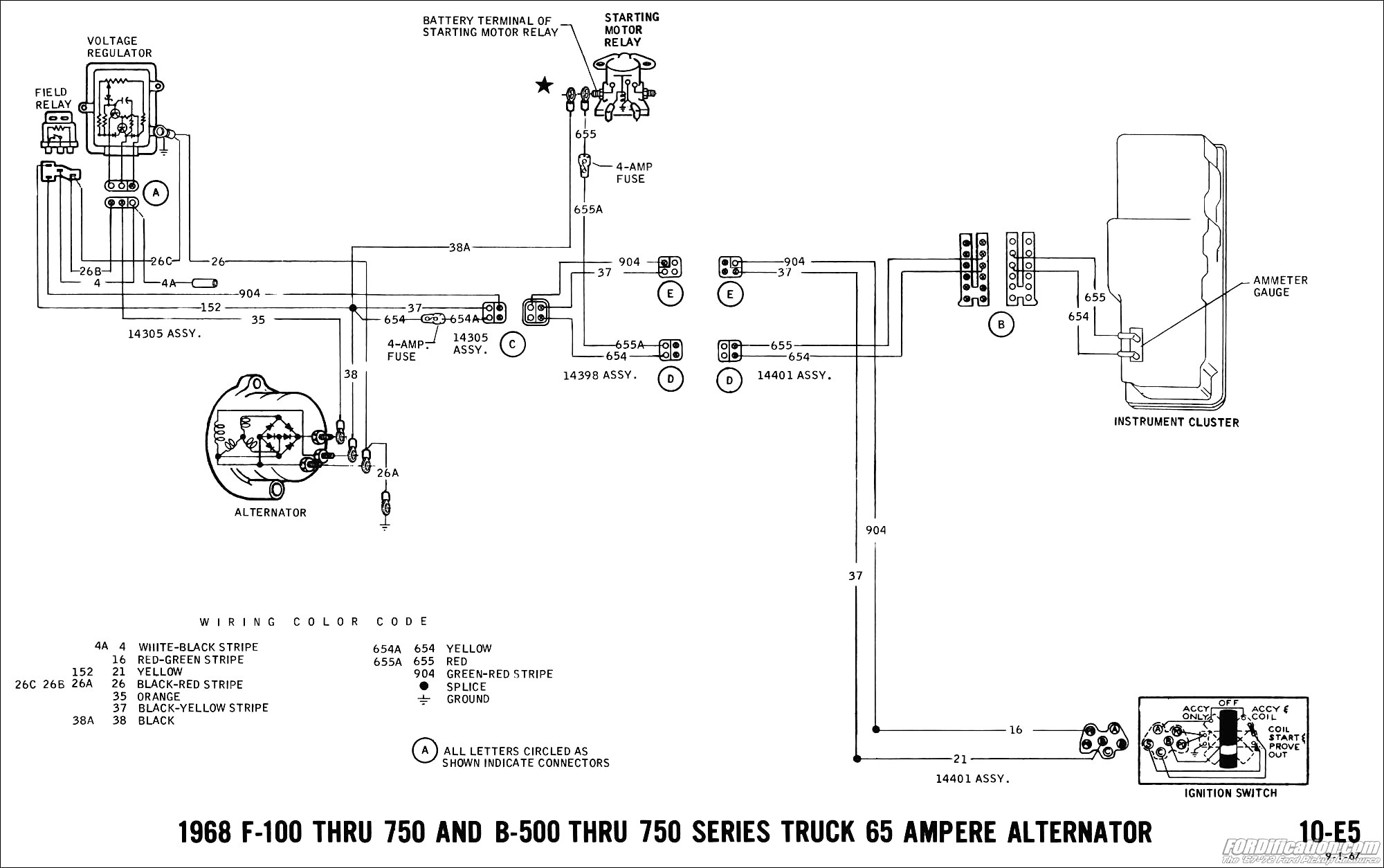 1967 mustang alternator wiring diagram Collection-Alternator Wiring Diagram Problem Best 1967 Mustang Wiring And Vacuum Diagrams Average Joe Restoration 13-c