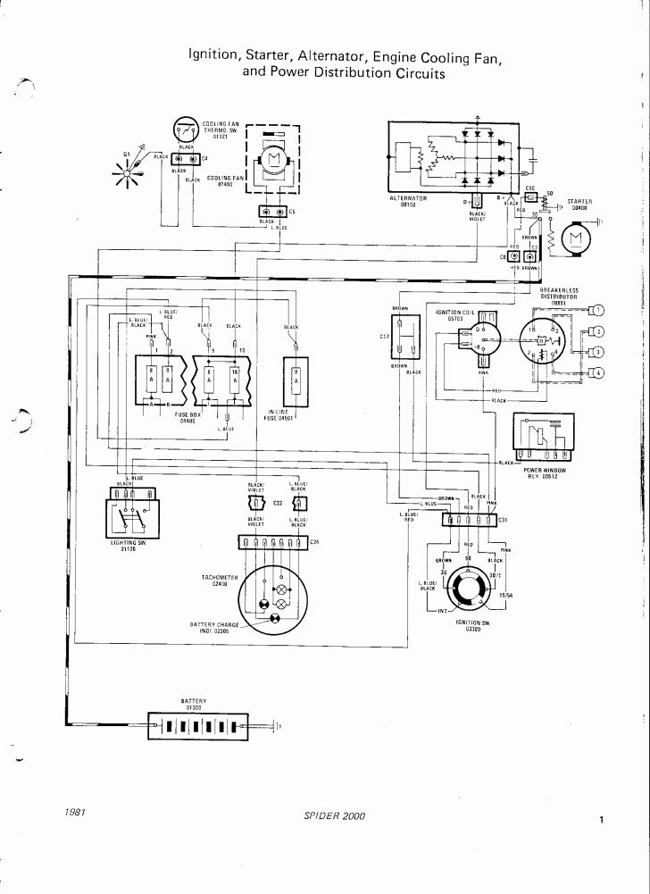 1975 fiat 124 spider wiring diagram Collection-1975 fiat 124 spider wiring diagram Download Medium Size Wiring Diagram Fiat Spider Beautiful Car 18-p