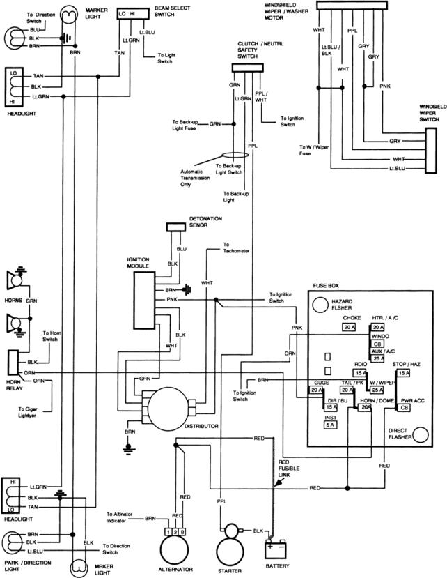 1982 chevy truck wiring diagram Download-1984 Chevy Truck Fuse Box Diagram Luxury Electrical Diagrams Chevy Ly Page 2 13-d