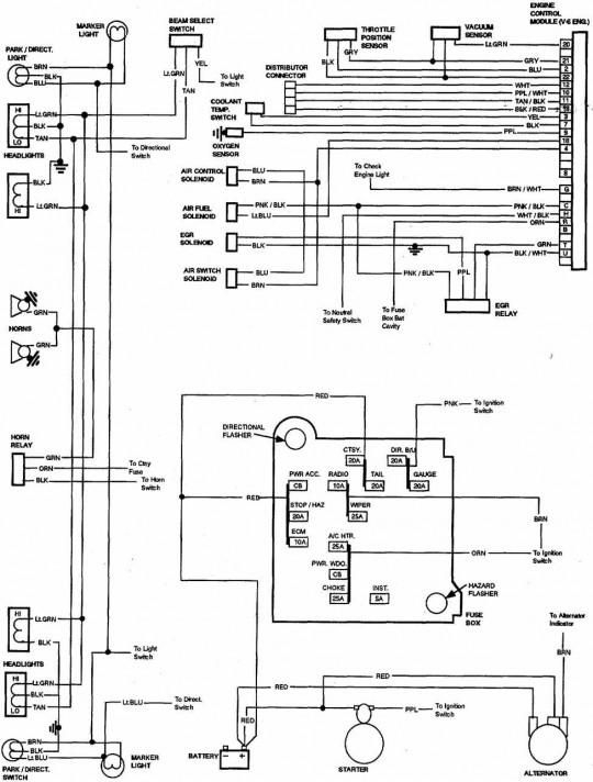 1982 chevy truck wiring diagram Collection-85 Chevy Truck Wiring Diagram 4-d