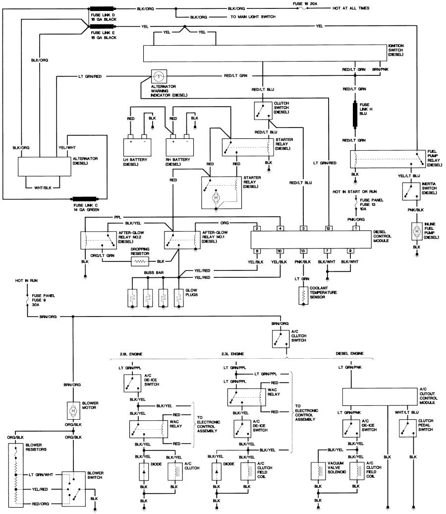 1987 ford f150 wiring diagram Collection-1987 Diesel Engine Wiring Diagram JPG or 13-p