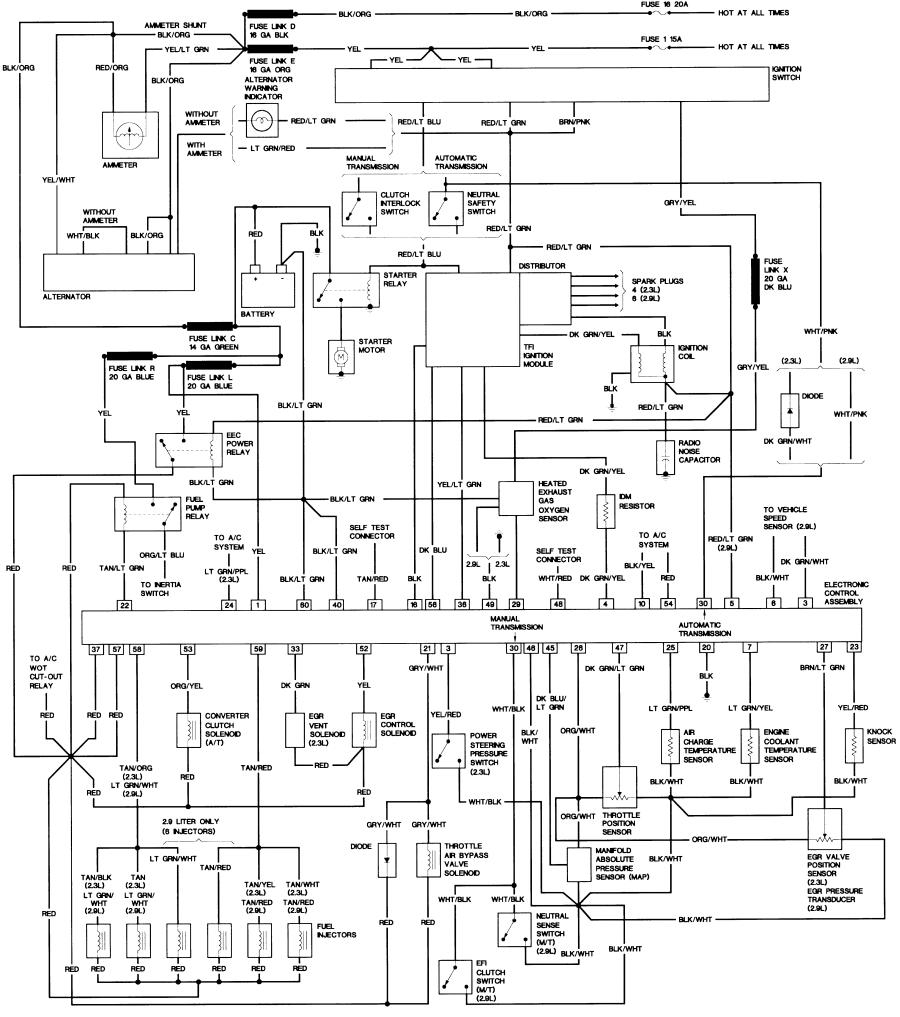 1988 ford f150 radio wiring diagram Download-JPG or 3-a