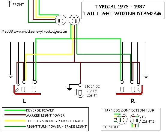 1994 chevy truck brake light wiring diagram Download-1994 chevy silverado headlight wiring diagram and tail light schematic typical 94 truck 11-g
