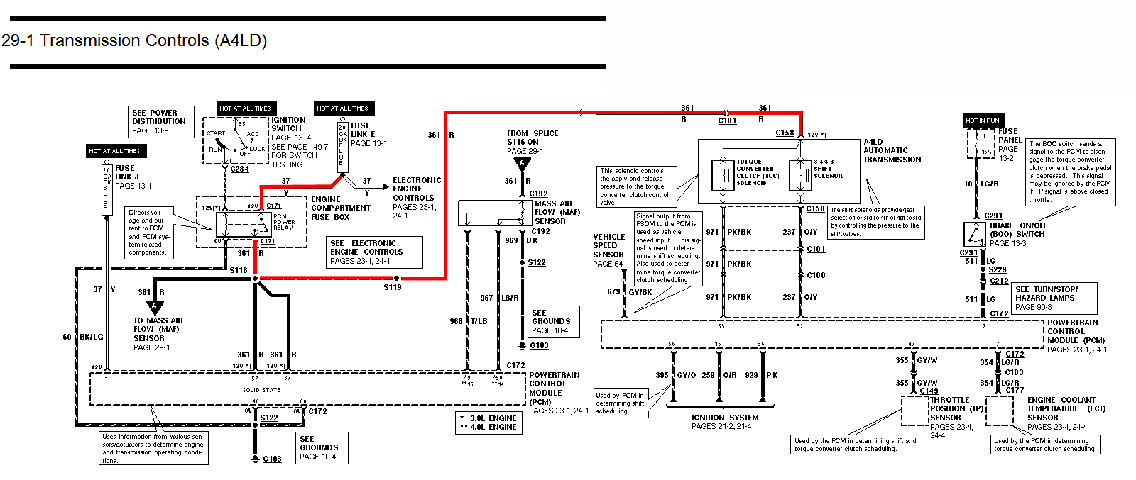 1994 ford f150 wiring diagram Collection-HERE not below for fullsize version 12-n