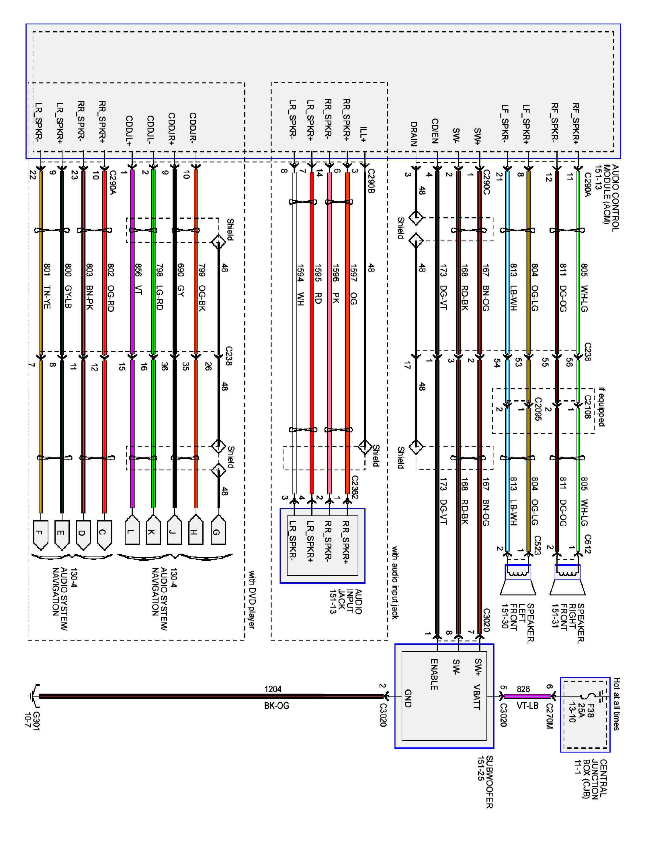 1998 ford f150 radio wiring diagram Download-2006 Ford Escape Radio Wiring Diagram 4-i