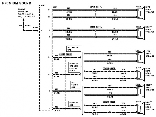 1999 Ford F250 Super Duty Radio Wiring Diagram Collection