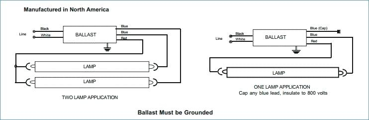 2 lamp t8 ballast wiring diagram Collection-how to wire a 2 lamp ballast universal triad a 2 lamp electronic fluorescent electronic ballast 12-h