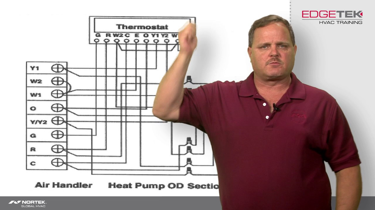 2 stage heat pump wiring diagram Download-Wiring of a Two Stage Heat Pump 13-c