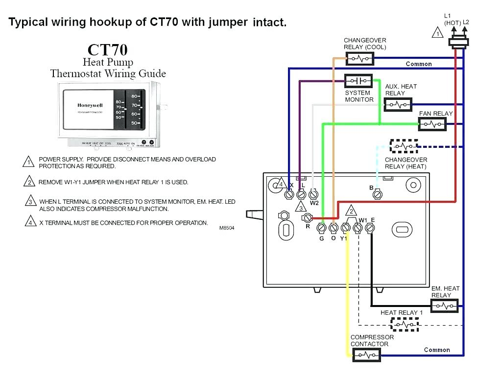 2 wire thermostat wiring diagram heat only Collection-2 Wire Honeywell Thermostat Wiring Diagram Heat ly 4-n