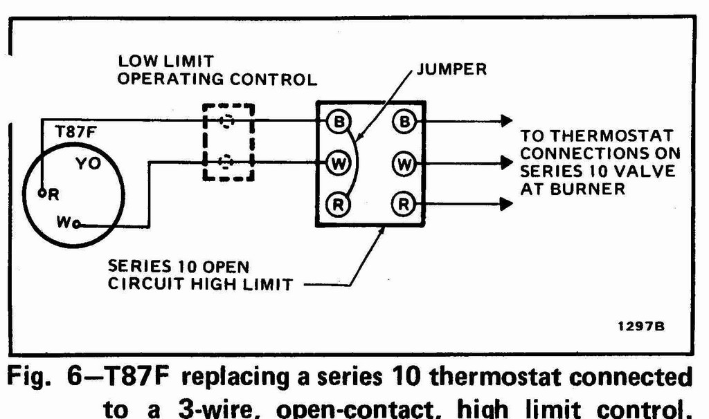 2 wire thermostat wiring diagram heat only Collection-Thermostat Wiring 2 Wires How To Wire A Honeywell Thermostat With 6 Wires 2 Wire Thermostat 15-m