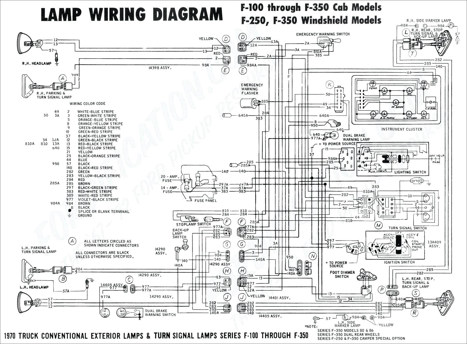 2000 f250 headlight switch wiring diagram Download- 5-n
