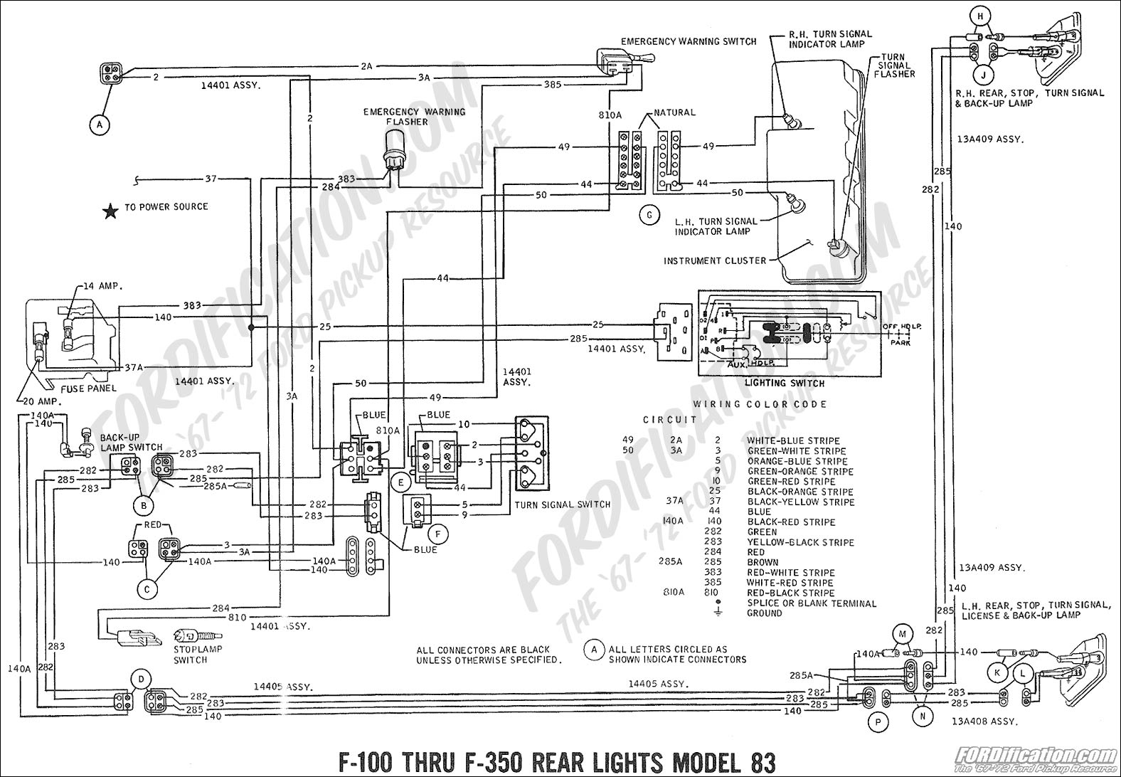 2000 f250 headlight switch wiring diagram Collection-Free ford Wiring Diagrams Fresh ford Truck Technical Drawings and Schematics Section H Wiring 5-g