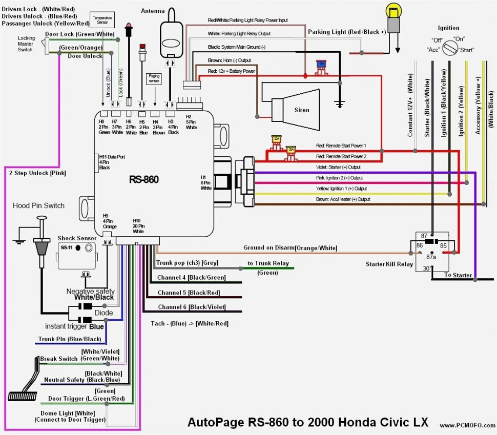 Honda civic radio wiring diagram gallery