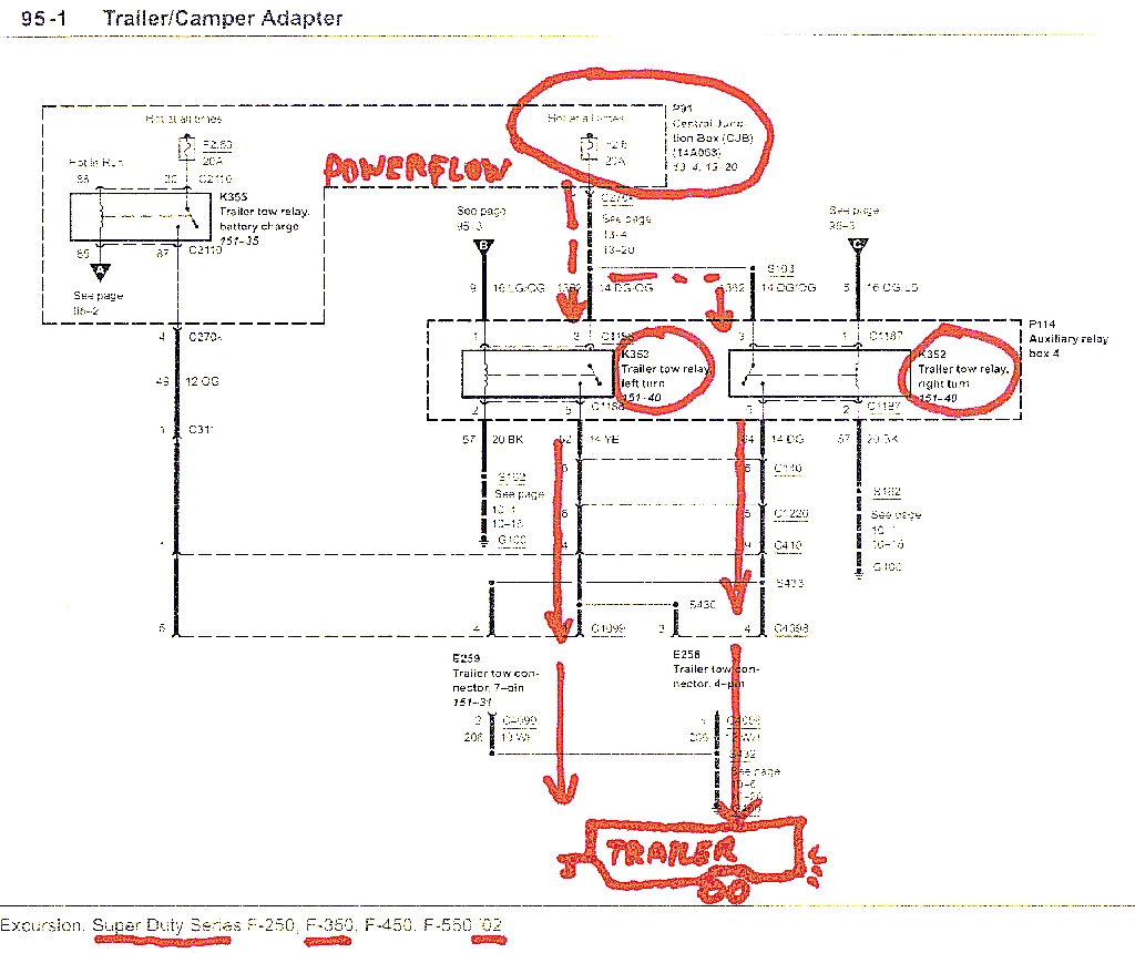 2002 ford f150 trailer wiring diagram Download-1999 ford F150 Trailer Wiring Diagram Lovely ford F350 Trailer Wiring Diagram Wiring Diagram 8-d