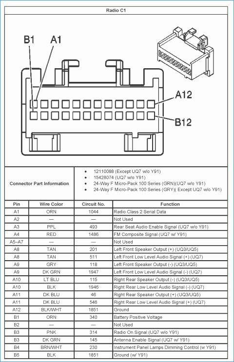 2003 gmc yukon stereo wiring diagram Download-Gmc Yukon Radio Wiring Diagram Wiring Library • Ayurve 8-t