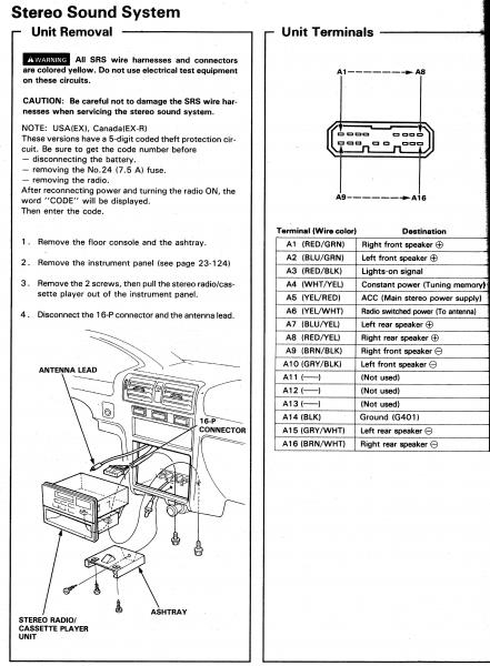 2003 honda accord stereo wiring diagram Collection-1994 Honda Accord Wiring Diagram Wiring Diagram 19-m