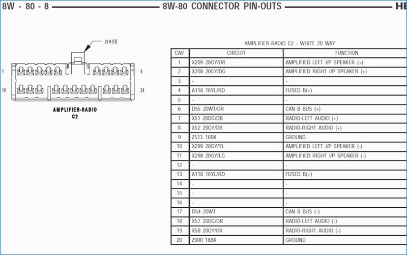 2004 dodge ram 1500 radio wiring diagram Collection-Radio Wiring Diagram 2004 Dodge Durango Dogboi Info 19-n