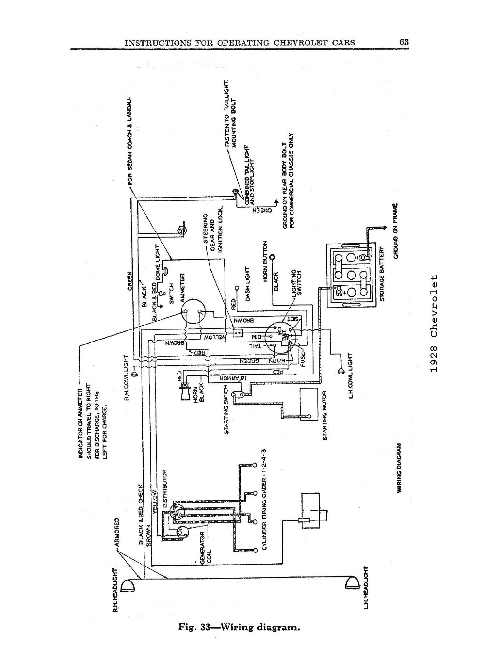 2004 silverado wiring diagram pdf Download-1928 1928 Wiring Diagrams · 1928 General Wiring 13-o