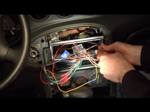 2005 pontiac grand prix radio wiring diagram Download-Installing an aftermarket car radio 15-r