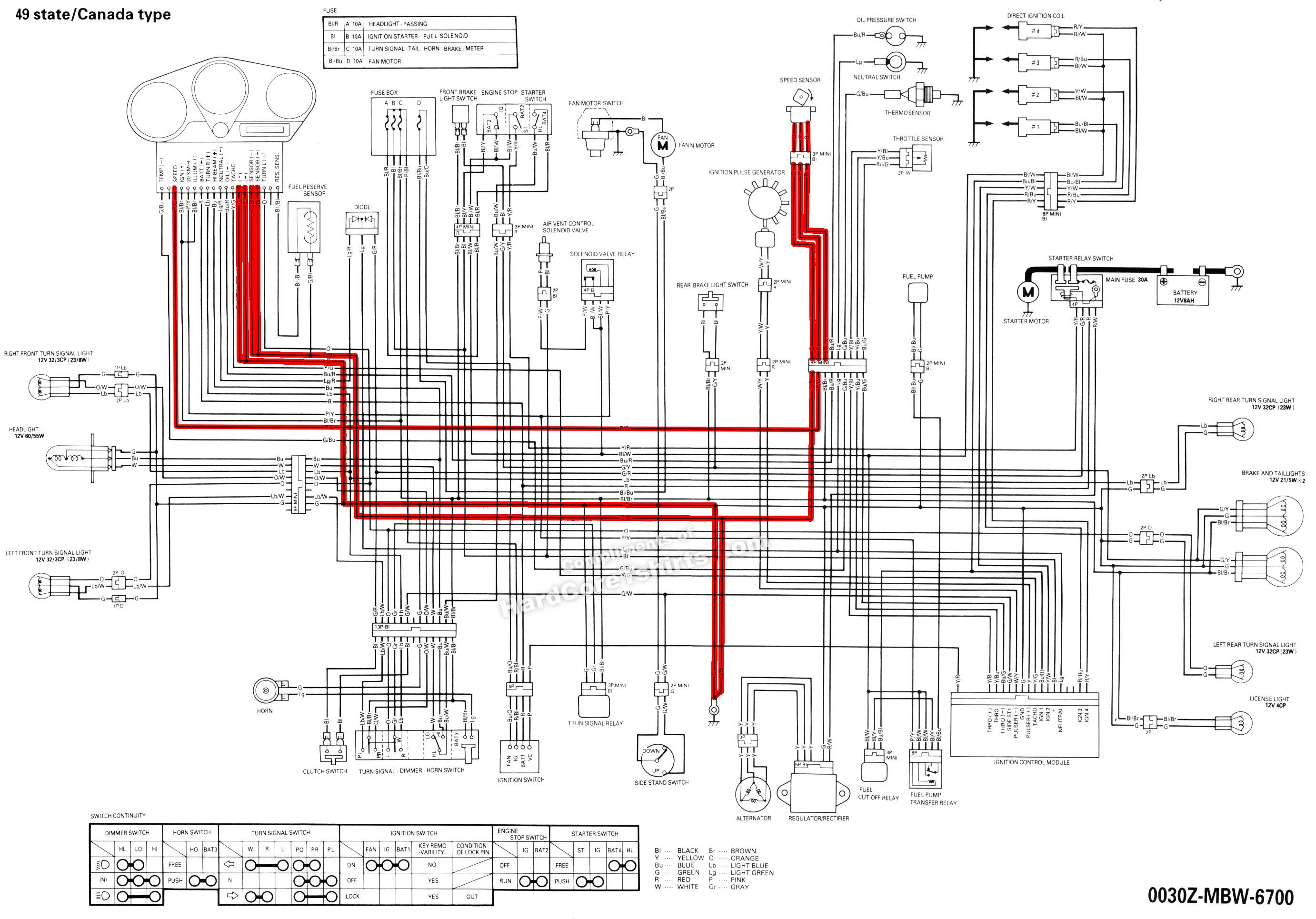2006 Honda Cbr600rr Wiring Diagram Download Collection Electrical