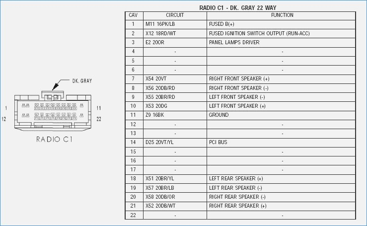 2006 honda odyssey radio wiring diagram Collection-Factory Radio Wiring Diagram & 2006 Dodge Dakota Stereo Wiring Fantastic Honda Odyssey Stereo Wiring 5-p