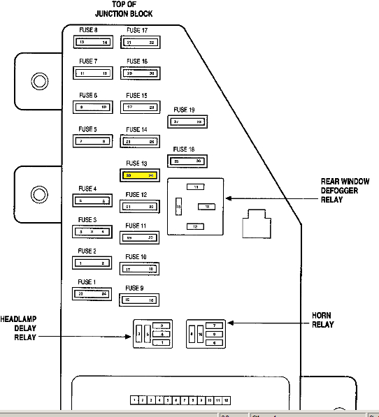 2007 chrysler sebring wiring diagram collection