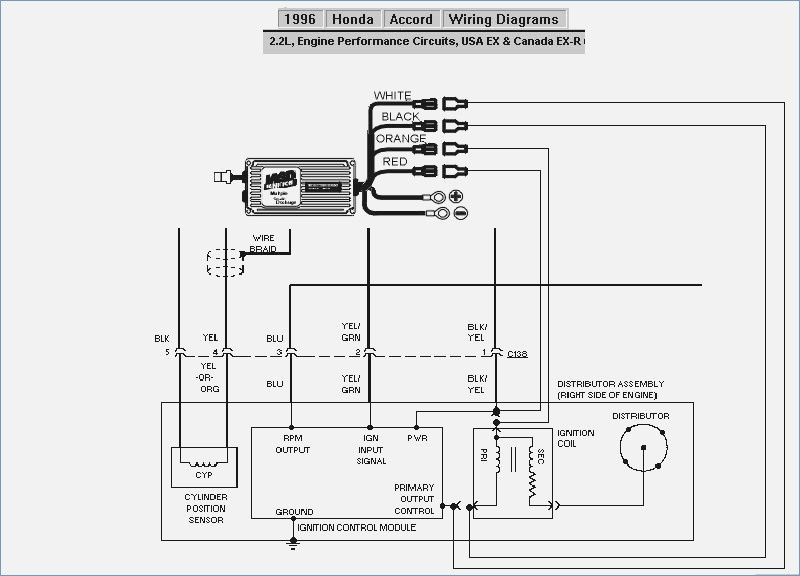 honda accord wiring diagram  wiring collection