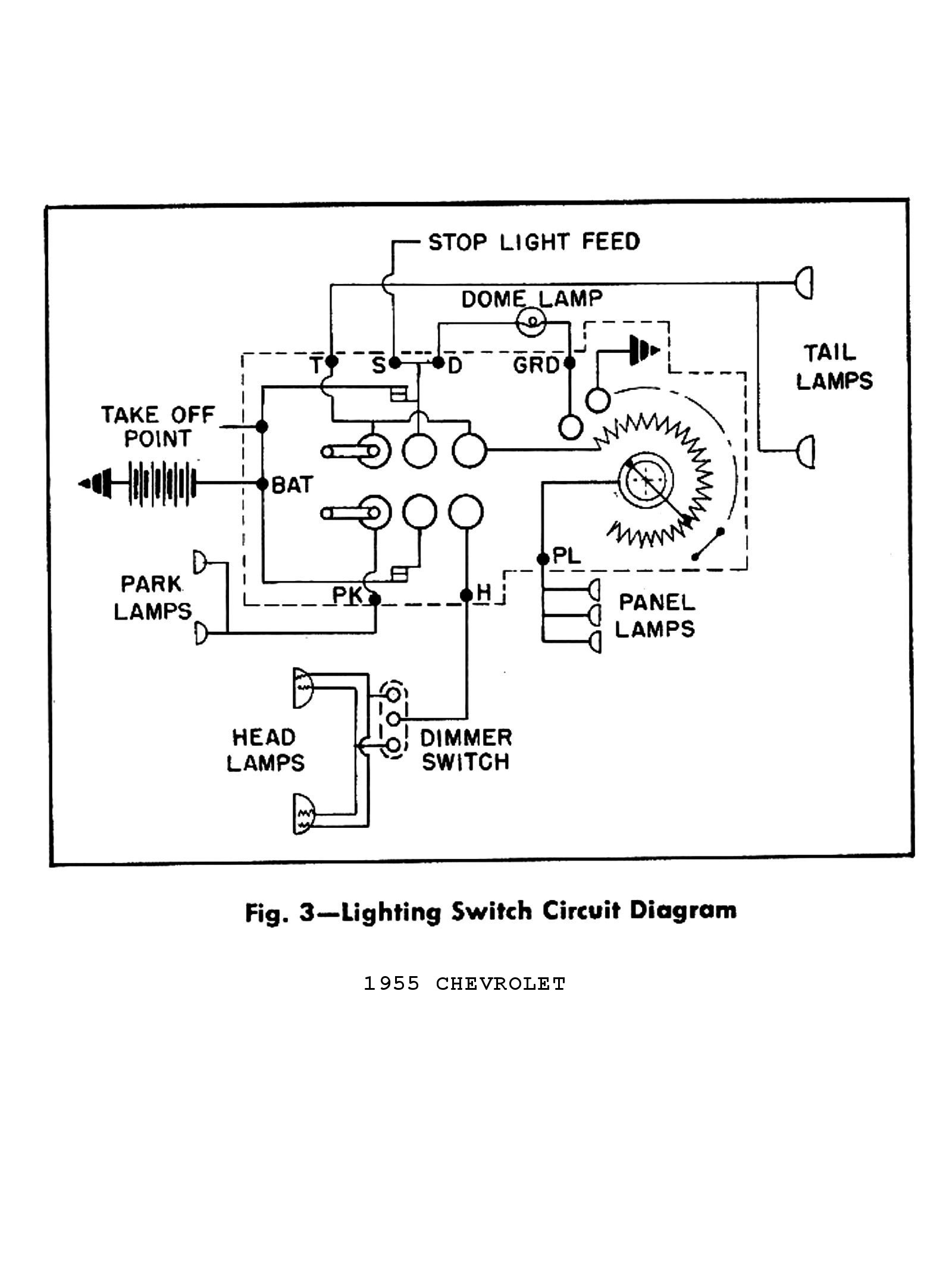 2017 silverado wiring diagram Download-1955 Truck Wiring Diagrams · 1955 Passenger Car Wiring 2 · 1955 Lighting Switch Circuit 3-c