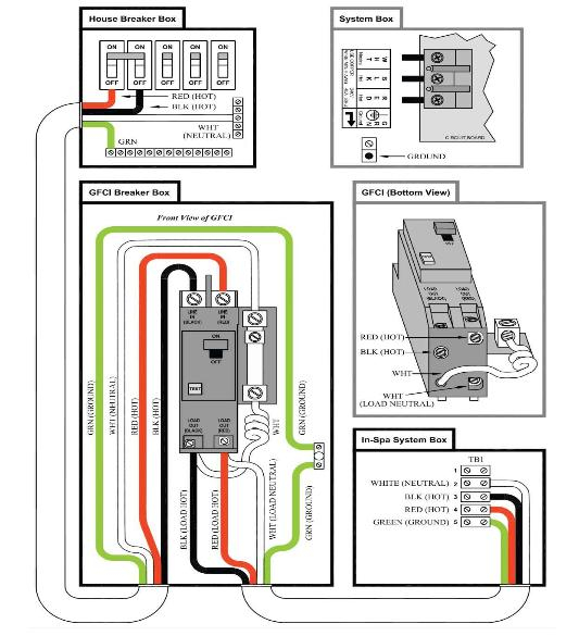 "220v hot tub wiring diagram Collection-Balboa Spa Wiring Diagrams Unique Gfci Breaker Wiring Diagram & Gfci Wiring ""&quot 15-m"