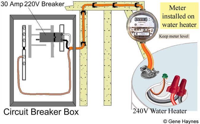 220v hot water heater wiring diagram Collection-Electric Water Heater Wiring Installation Awesome How to Install Electric Meter 240 Volt Water Heater 13-f