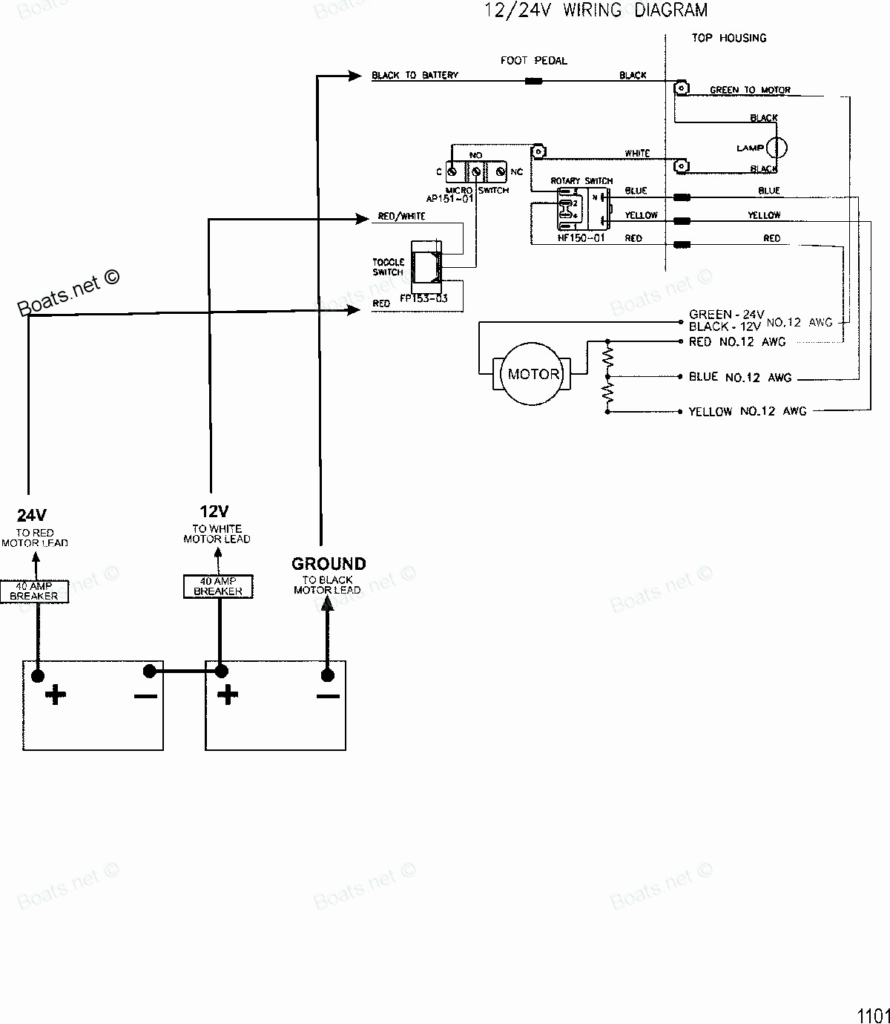 24v trolling motor wiring diagram Collection-24 Volt Trolling Motor Wiring Diagram Inspirational 24v Amp 12 Plug 11-c