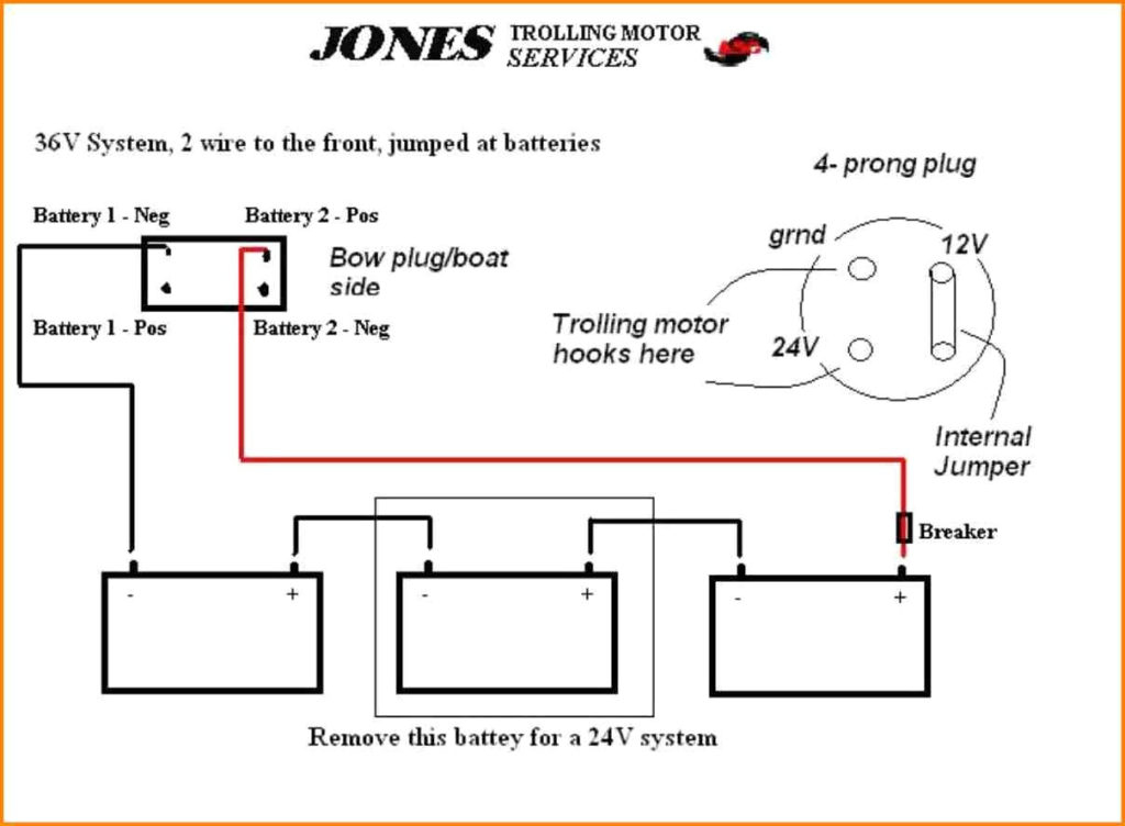 24v trolling motor wiring diagram Download-Trolling Motor Wiring Diagram Best 12 24 Volt 7-i