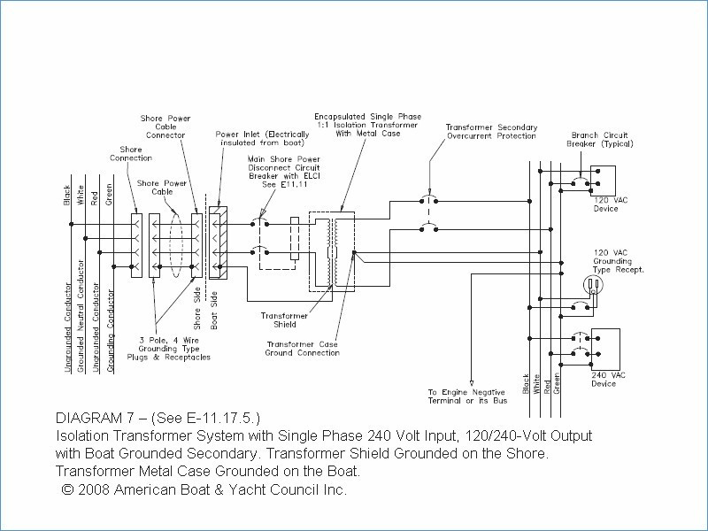 3 phase isolation transformer wiring diagram Collection-Isolation Transformer Circuit Diagram Unique Wiring Diagram for Boats 7-s