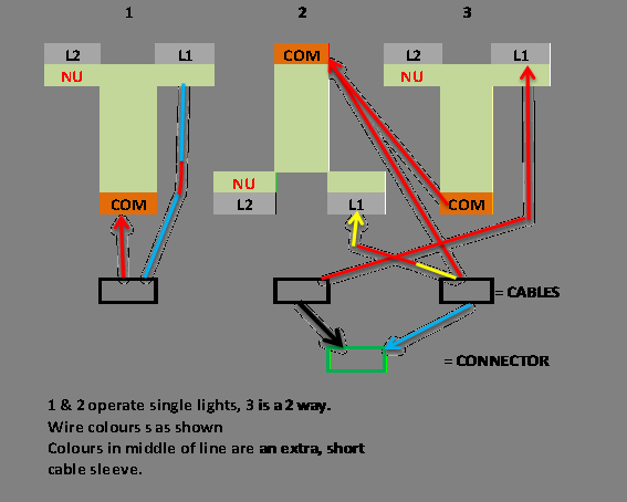3 way switch wiring diagram light in middle Collection-3 Way Switch Wiring Diagram with Dimmer Lovely 3 Way Lighting Wiring Diagram Uk Free Wiring 19-j