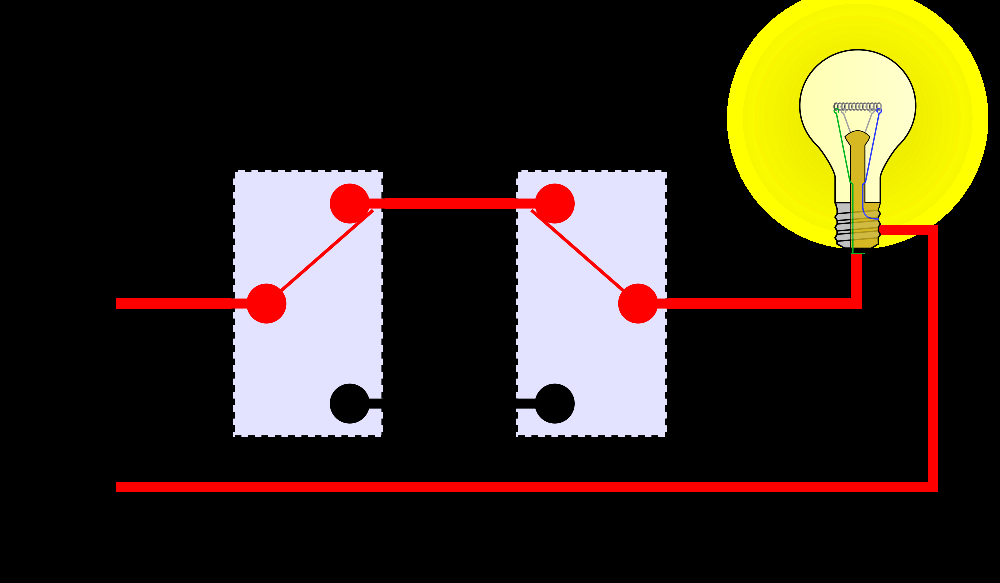 3 way switch wiring diagram light in middle Collection-enter image description here 8-p
