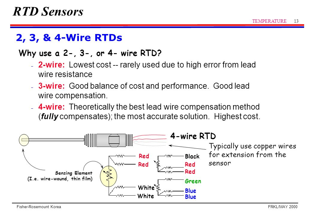3 wire rtd wiring diagram Download-3 Wire Rtd Wiring Diagram Awesome Rtd Sensor Temperature Ppt Video line 4-g