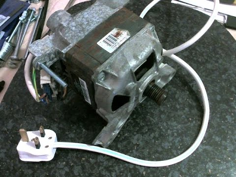 3 wire washing machine motor wiring diagram Download-How to wire up a Washing Machine Motor 1-k