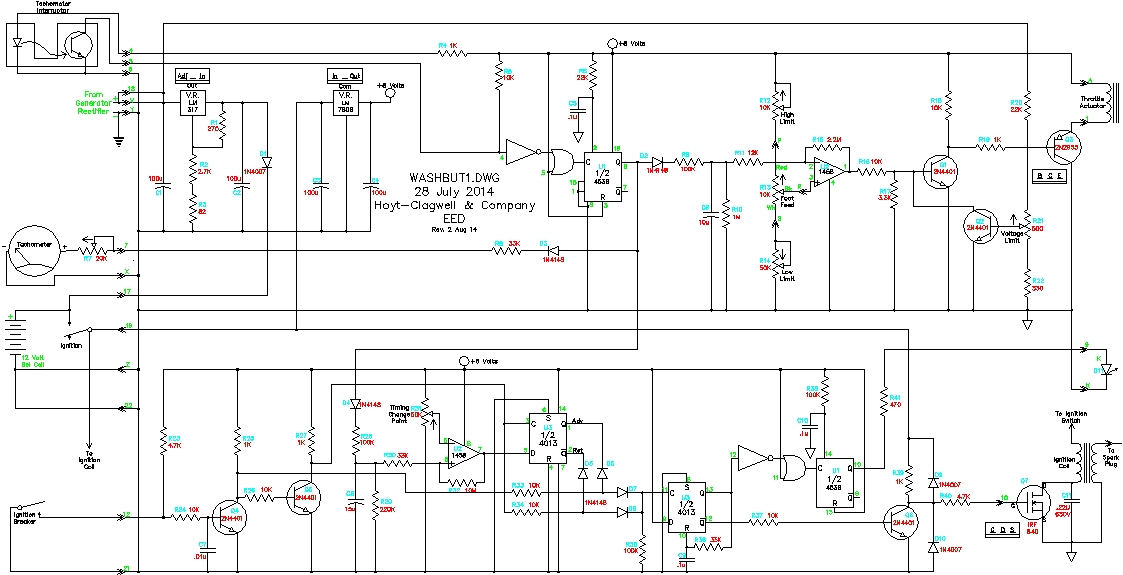 3 wire washing machine motor wiring diagram Collection-The working schematic Revised 2 Autust 2014 10-k