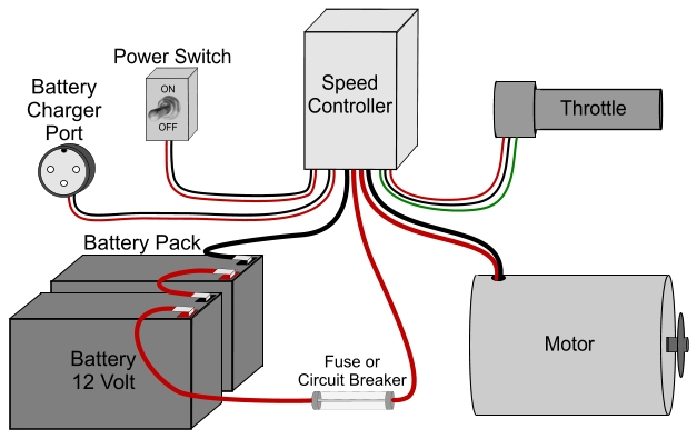 36 volt electric scooter wiring diagram Collection-The speed controllers wiring directions will precisely indicate which wires to connect to which parts and ponents Wiring an electric scooter bike 11-b