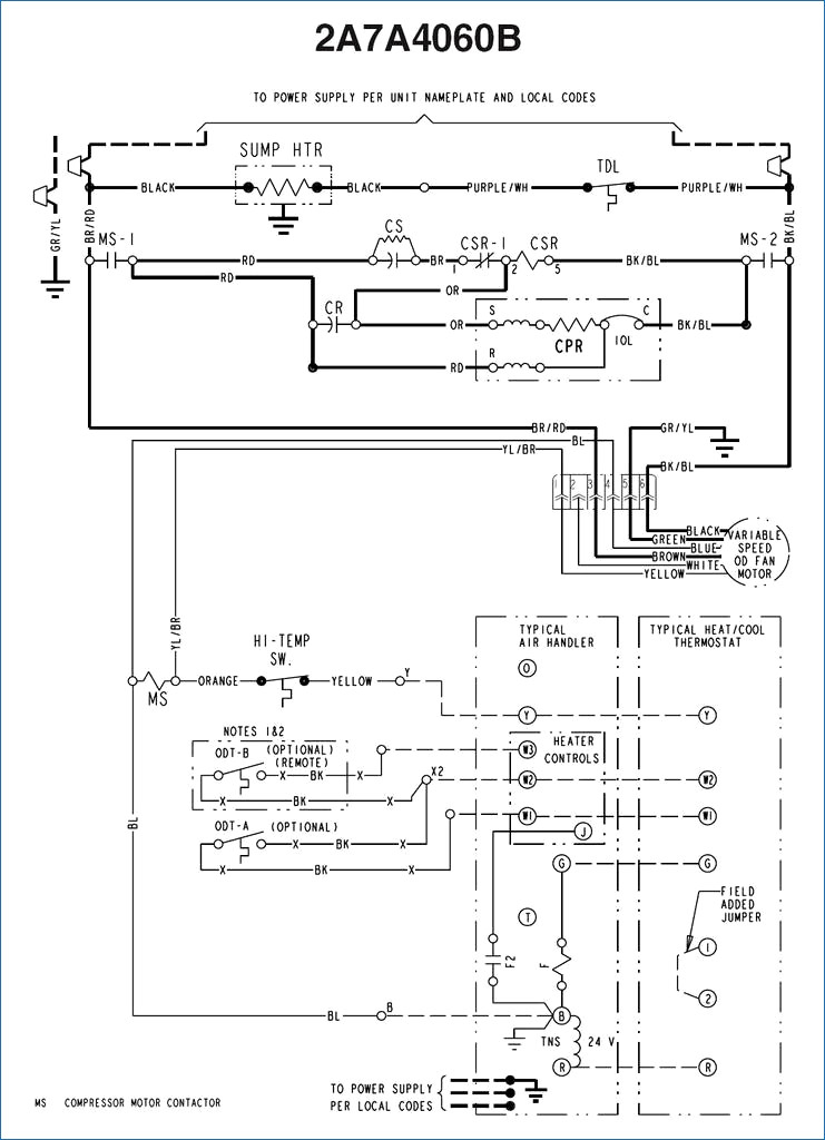 4 wire well pump wiring diagram Download-Typical 4 Wire Installation Elegant American Standard Wiring Diagram 17-p