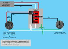 50 amp rv wiring diagram Collection-Image result for Home 240V Outlet Diagram 9-m