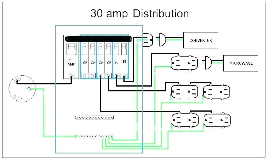 50 amp transfer switch wiring diagram Download-amp to adapter wiring diagram elegant magnificent installation 50 rv breaker panel furniture row phone number 13-l