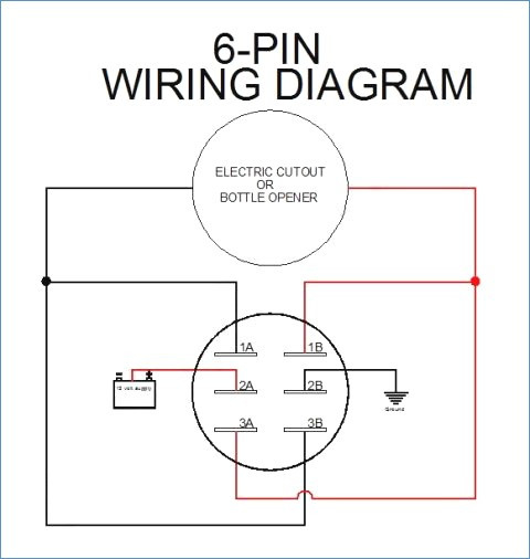 6 Pin Toggle Switch Wiring Diagram Collection Wiring