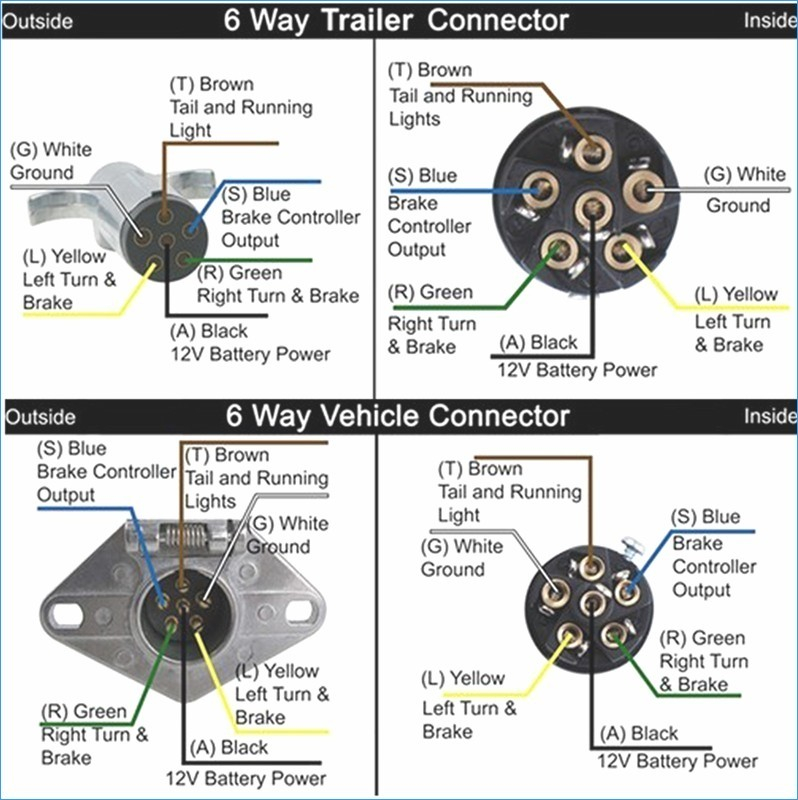 6 pin trailer connector wiring diagram Collection-6 Pin Trailer Wiring Diagram Wiring Diagram 19-j